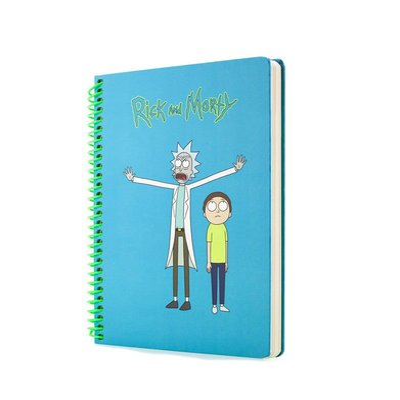 Mabbels Rick And Morty 1 Spiralli Butik Defter 24x17 190 sayfa