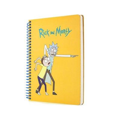 Mabbels Rick And Morty 2 Spiralli Butik Defter 24x17 190 sayfa