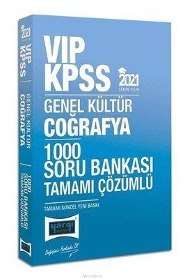 2021 KPSS VIP Coğrafya Tamamı Çözümlü 1000 Soru Bankası