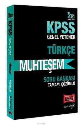 2021 KPSS Muhteşem Türkçe Tamamı Çözümlü Soru Bankası