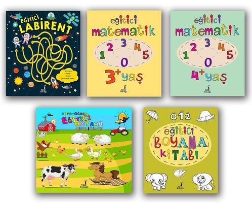Eğitici Kitaplar Seti - 5 Kitap Takım