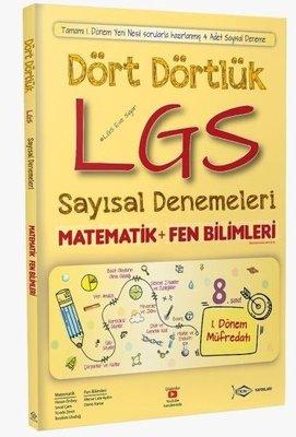 Dört Dörtlük LGS Sayısal Denemeleri