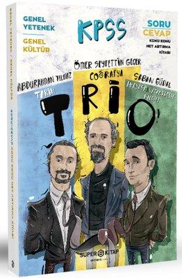KPSS Genel Kültür Trio Soru Cevap Net Arttırma Kitabı