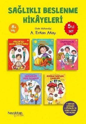 Sağlıklı Beslenme Hikayeleri Seti - 5 Kitap Takım