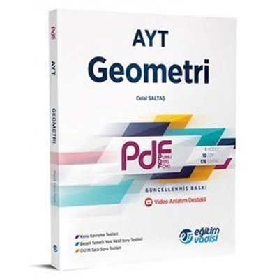 AYT Geometri  Pdf Planlı Ders Föyü Video Anlatım Destekli