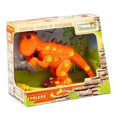 Polesie - Yapı Seti SökTak Dinozor 40 Parça 77158