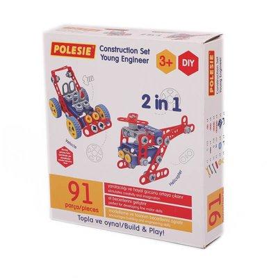 Polesie - Yapım Oyuncağı 2in1 91 Parça 72986