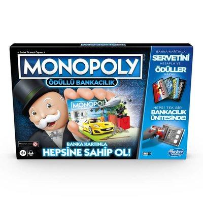 Hasbro Games Monopoly Ödüllü Bankacılık E8978