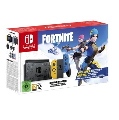 Nintendo Switch Fortnite Paket Konsol