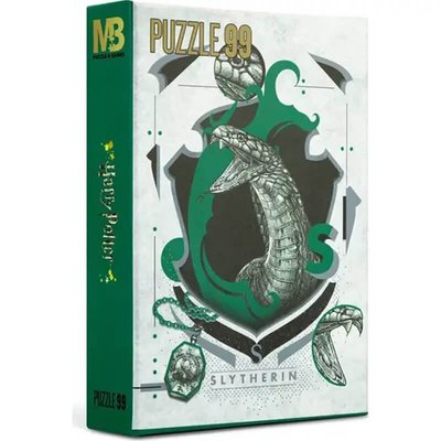 Mabbels Warner Bros Puzzle - 99 Parça Harry Potter Slytherin Puzzle