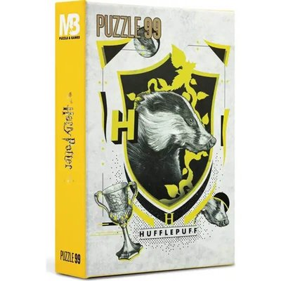 Mabbels Warner Bros Puzzle - 99 Parça Harry Potter Huffkepuff Puzzle