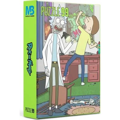 Mabbels Warner Bros Puzzle - 99 Parça Rick and Morty Puzzle