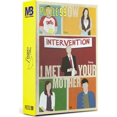 Mabbels Warner Bros Puzzle - 99 Parça Himym Puzzle