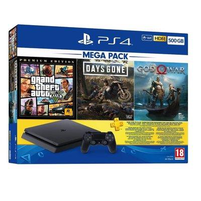 Sony PS4 500Gb Mega Paket 2020