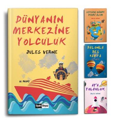 Jules Verne Seti - 4 Kitap Takım