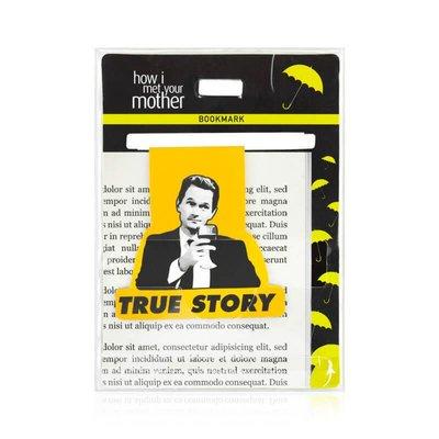 Mabbels Bookmark True Story-Barney
