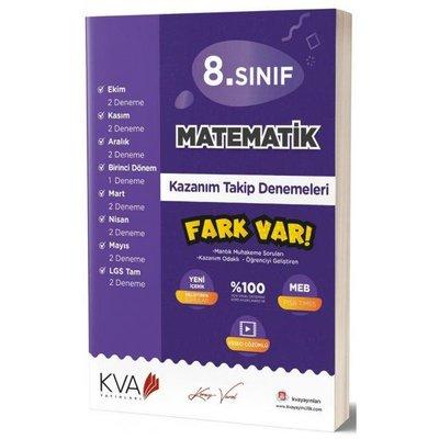 8. Sınıf Matematik Kazanım Takip Denemeleri
