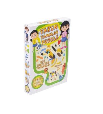 Yakaçi Eğitici Oyun Yarım Yamalak Puzzle