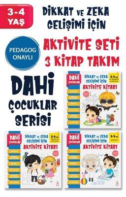 Dahi Çocuklar Serisi Seti - 3 Kitap Takım
