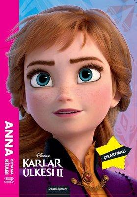 Disney Karlar Ülkesi 2 - Anna Maskeli Boyama Kitabı