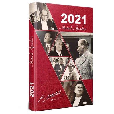 2021 Atatürk Ajandası Kırmızı