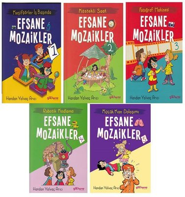 Efsane Mozaikler Serisi - 5 Kitap Takım