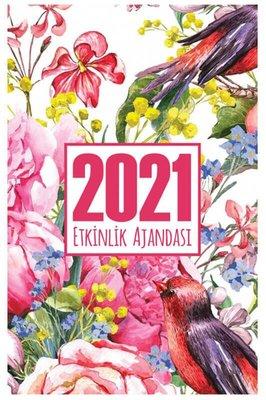 Halk 2021 Akademik Ajanda Gül Bahçesi