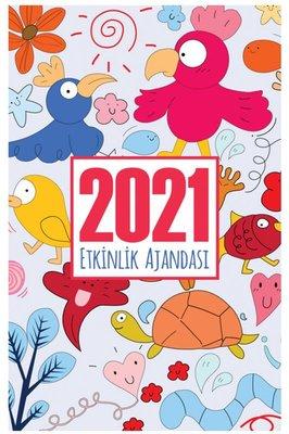 Halk 2021 Akademik Ajanda Neşeli Hayvanlar