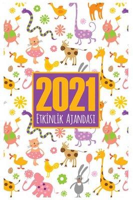 Halk 2021 Akademik Ajanda Sevimli Hayvanlar