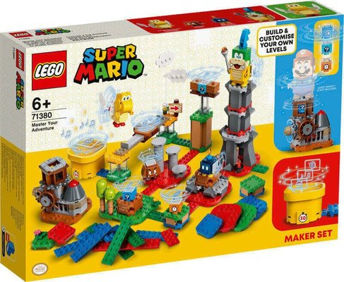 Lego Super Mario Master Adventre 71380