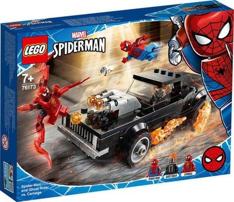 Lego Super Heroes SpiderMan Ghost Rider Car 76173