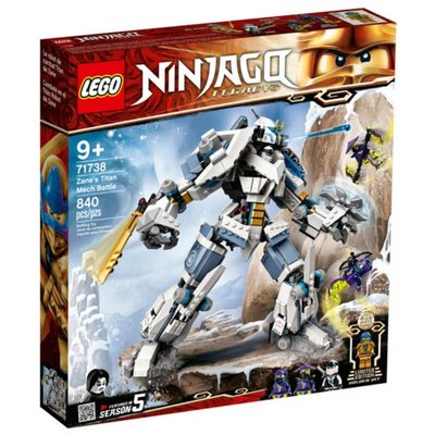 Lego Ninjago Zane Makine Savaşı 71738