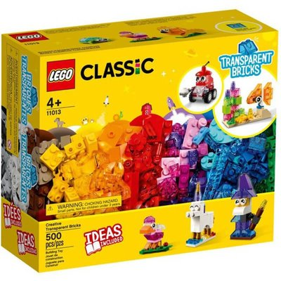 Lego Classic Yaratıcı Şeffaf Yapım 11013