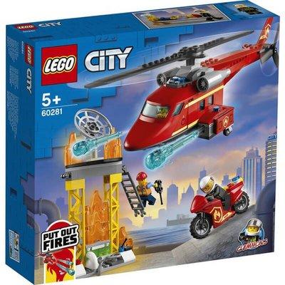 Lego City İtfaiye Kurtarma Helikopteri 60281