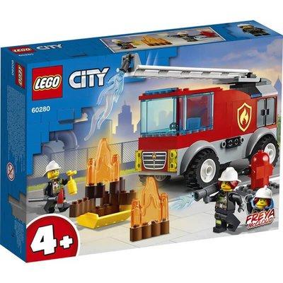 Lego City Merdivenli İtfaiye Kam 60280