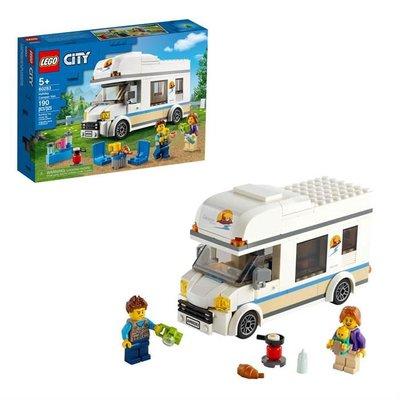 Lego City Tatilci Karavanı 60283
