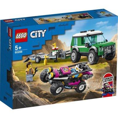 Lego City Yarış Arabası Taşıma Aracı 60288