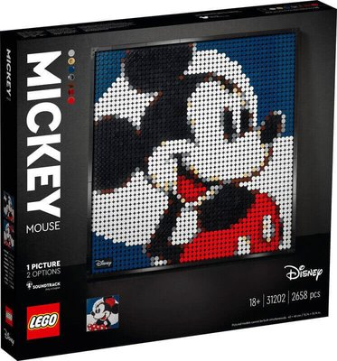 Lego Art Mickey Mouse 31202