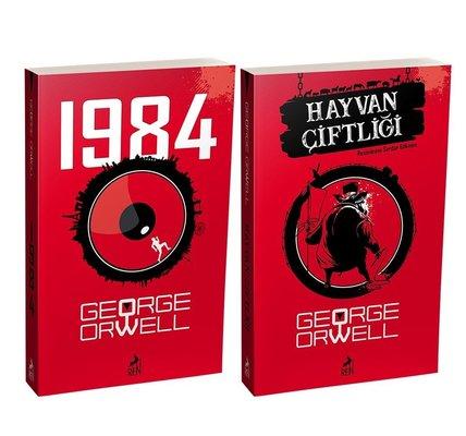 George Orwell Seti - 2 Kitap Takım