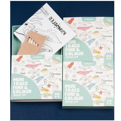 Kidmosfer Sualtı Noktaları Birleştir - Bul-Boya Poster
