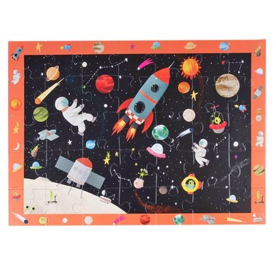 Kidmosfer Uzay Macerası 35 Parça Puzzle