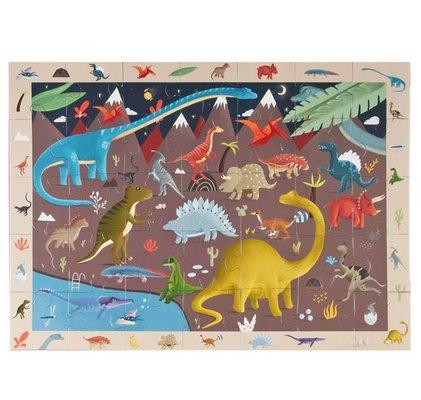 Kidmosfer Dinozorlar 35 Parça Puzzle