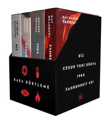 Kara Dörtleme Kutu Set: Biz - Cesur Yeni Dünya - 1984-Fahrenheit 451