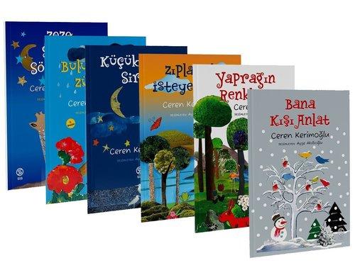 CerenKerimoğlu Çocuk Kitapları Seti - 6 Kitap Takım