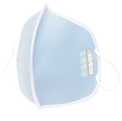 Silver Pro Mask Saf Gümüşlü Antivirüs Maske - Bebek Mavi