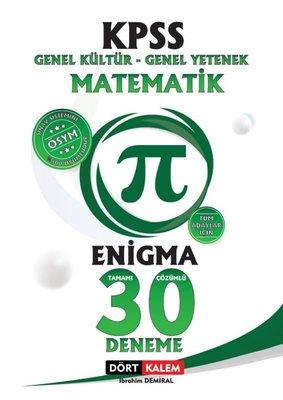 Enigma - Tamamı Çözümlü 30 KPSS Matematik Denemesi