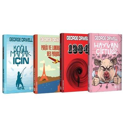 George Orwell Seti - 4 Kitap Takım