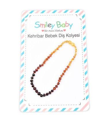 Smiley Baby Diş Kehribar Kolye