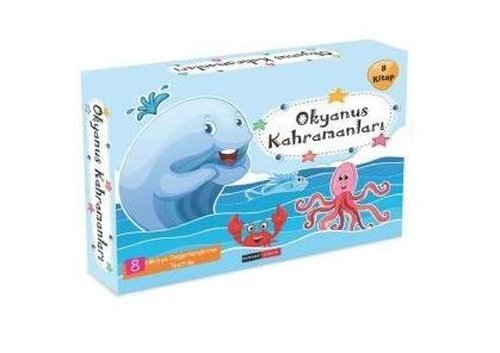 Okyanus Kahramanları Seti - 8 Kitap Takım