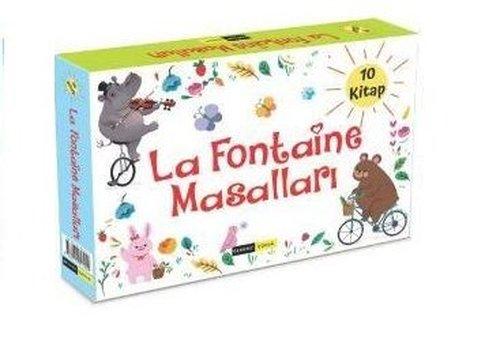 La Fontaine Masalları Seti - 10 Kitap Takım